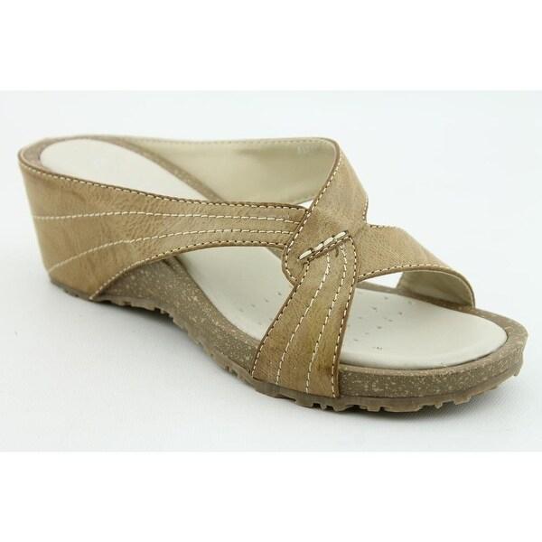 Patrizia By Spring Step Avelle Womens Wedge Sandals Shoes - Black - 38 m eu / 7.5-8 b(m) us