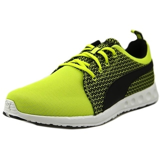 Puma Carson Runner Knit Round Toe Synthetic Sneakers
