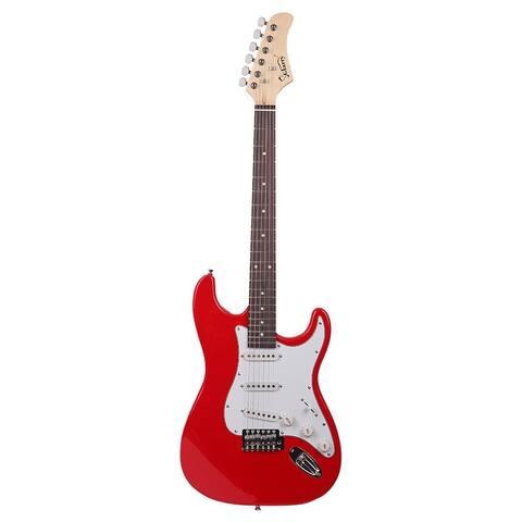 Glarry Fingerboard Electric Guitar BagShoulder Strap Pick