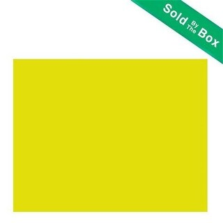 Bazic 5018 22 X 28 Yellow Poster Board Case of 25