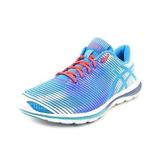 Asics Gel-Super J33 2 Women Round Toe Synthetic Blue Running Shoe