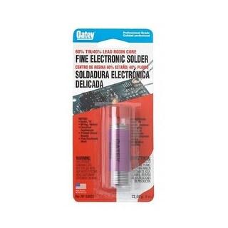 Oatey 50194 60/40 Rosin Core Wire Solder, 1/2 lbs