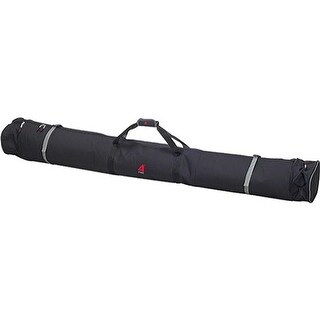 Athalon Expanding Double Ski Bag Padded Black - us one size (size none)