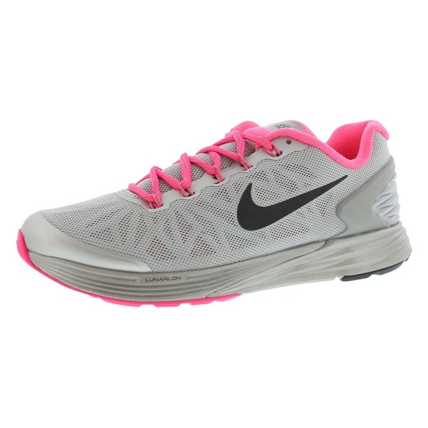 save off c40d0 74627 Nike Lunarglide 6 Flash (Gs) Running Gradeschool Girl  x27 s Shoes -