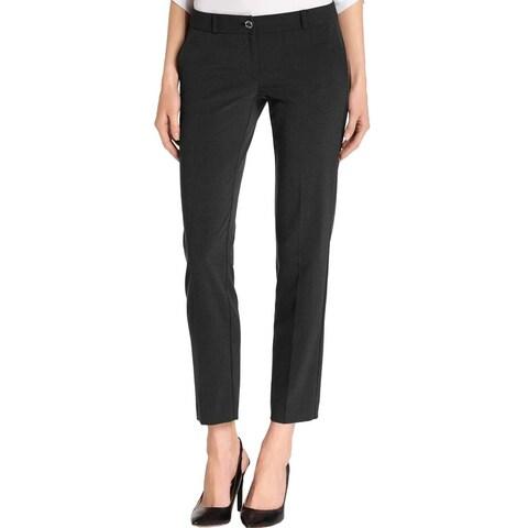Michael Kors Black Women's Size 16 Straight Leg Dress Pants Stretch