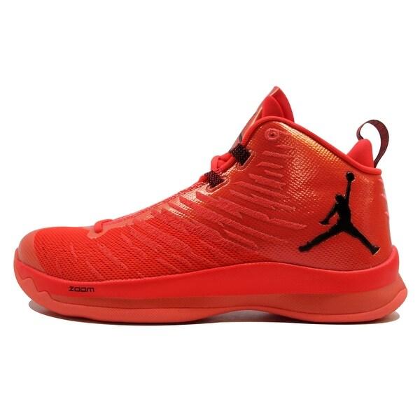 Nike Men's Air Jordan Super.Fly 5 Infrared 23/Black-Bright Mango 844677-606