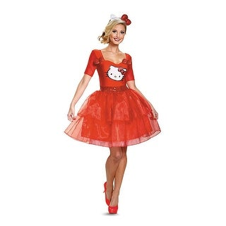 Hello Kitty Adult Deluxe Adult Costume