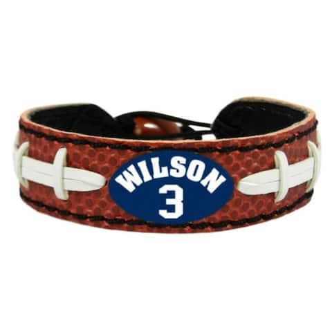 Seattle Seahawks Bracelet Classic Jersey Russell Wilson Design - Multi-Color