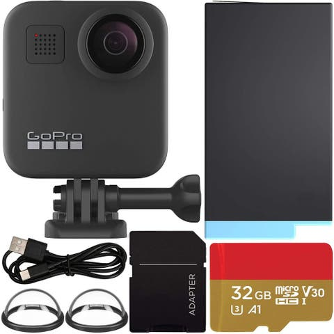 GoPro MAX 360 Action Camera with SanDisk Extreme 32GB microSDHC Memory
