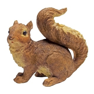 Design Toscano Scamper and Chomper, the Woodland Squirrel Statues: Scamper