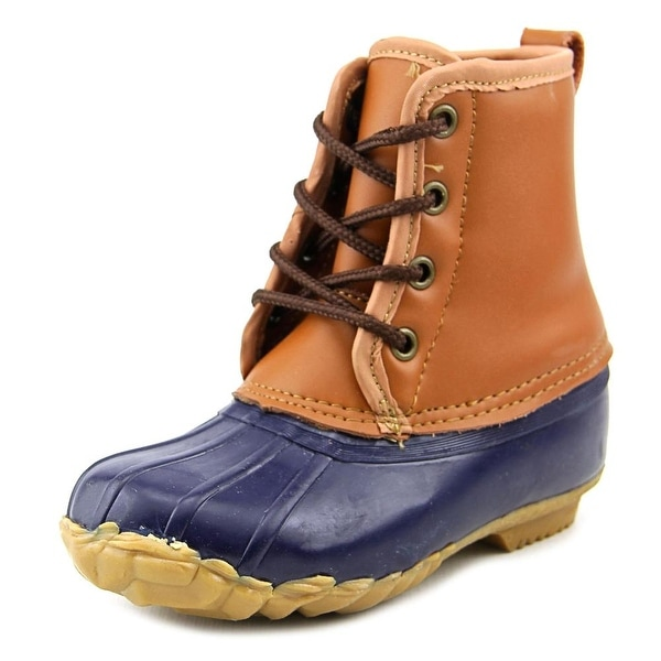 Western Chief Four Eye Duck Youth Round Toe Synthetic Rain Boot