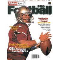 f3d7b3fed Steve Young unsigned San Francisco 49ers Athlon Sports 1999 NFL Pro  Football Preview Magazine