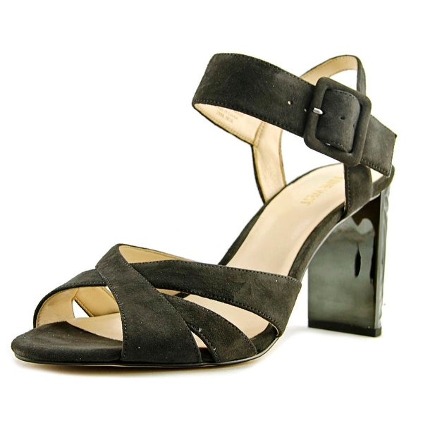 25495ef7dfe Nine West Crossroad Open Toe Suede Sandals - Free Shipping On Orders Over   45 - Overstock.com - 24156097