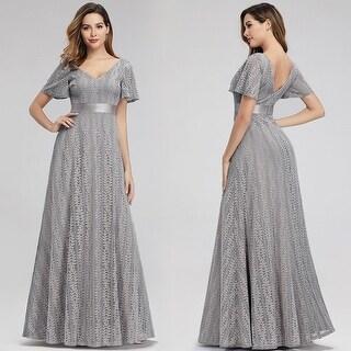 Ever-Pretty Womens Elegant V-neck Formal Evening Dress 00989
