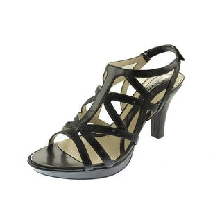 Naturalizer Womens Danya Faux Leather Dress Evening Sandals