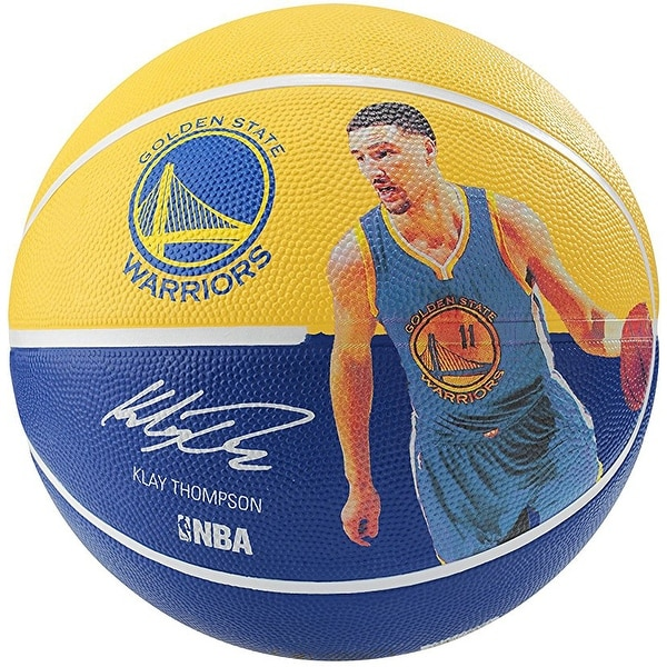 Shop Spalding NBA Player Basketball (Klay Thompson) - Free Shipping On  Orders Over  45 - Overstock - 20505317 ec6435c34299