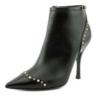 DSquared2 Taglia Women Pointed Toe Leather Black Bootie