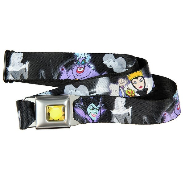 Walt Disney Seatbelt Belt Villains Hexing Princess Scenes