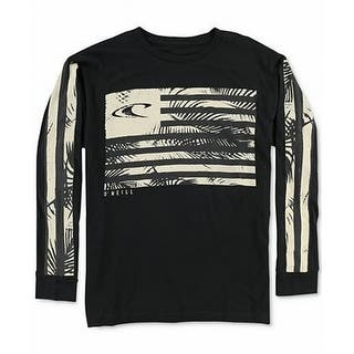 O'Neill NEW Black Beige Mens Size Medium M Flag Graphic Tee T-Shirt|https://ak1.ostkcdn.com/images/products/is/images/direct/3f0c196970858e8959db863c1571b22fc8124897/O%27Neill-NEW-Black-Beige-Mens-Size-Medium-M-Flag-Graphic-Tee-T-Shirt.jpg?impolicy=medium