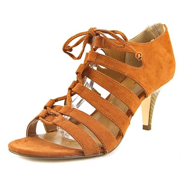Style & Co Hannde Women Chestnut Sandals