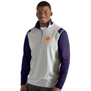 Clemson University Men's Automatic Half Zip Pullover