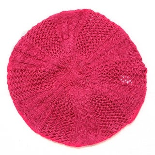 Ladies Winter Knit Beret