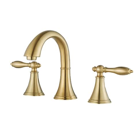 Florence Two-Handle 8-Inch Widespread Bathroom Faucet