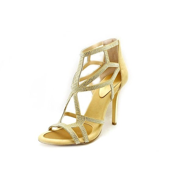 BCBGeneration Women's Renee Caged Heeled Sandals