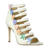 Katy Perry Womens Kp0002 White Sandals Size 7