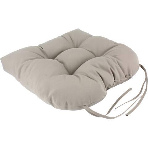 "Indoor/Outdoor Patio D or Seat Cushion - 20"" x 20"" x 3"""