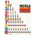''Mickey & Friends: 1 to 10 Counting Poster'' by Walt Disney Walt Disney Art Print (20 x 16 in.) - Thumbnail 0