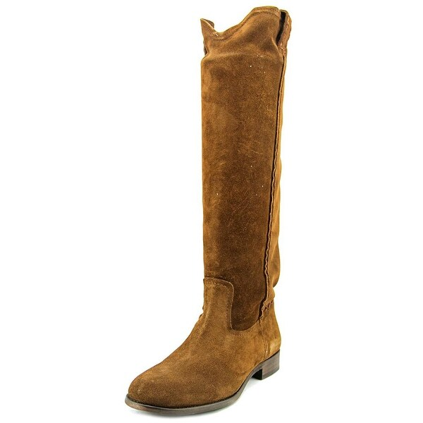 Frye Cara Tall Women Round Toe Suede Knee High Boot