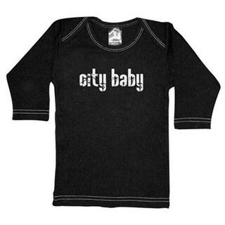 Rebel Ink Baby 353ls1824 City Baby- 18-24 Month Black Long Sleeve Tee