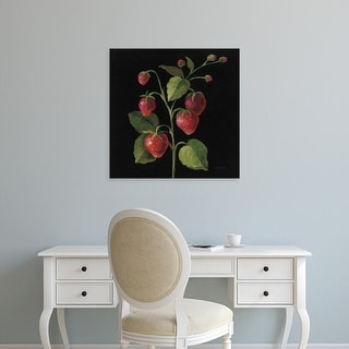Easy Art Prints Silvia Vassileva's 'Fraise no Words' Premium Canvas Art