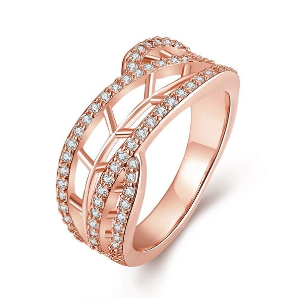 Stariway to Heaven Rose Gold Ring