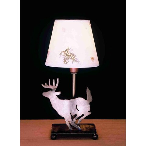 Meyda Tiffany 50612 Accent Table Lamp from the Elks Club Collection - ANTIQUE COPPER - n/a