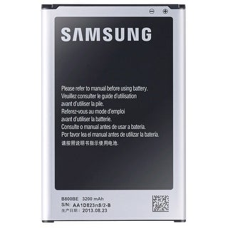 Samsung Galaxy Note 3 Original OEM Rechargeable Replacement Battery - EB-80BUB