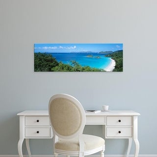 Easy Art Prints Panoramic Images's 'Trunk Bay Virgin Islands National Park St. John US Virgin Islands' Canvas Art
