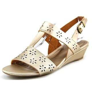 Life Stride Yasmina W Open-Toe Synthetic Slingback Sandal