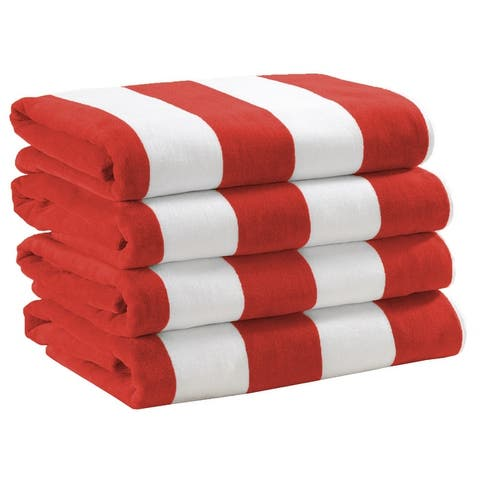 Cotton Cabana Stripe Beach Towel Novia Collection
