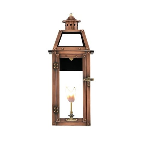 """Primo Lanterns BV-20G Bienville 14"""" Wide Outdoor Wall-Mounted Lantern Natural Gas Configuration"""