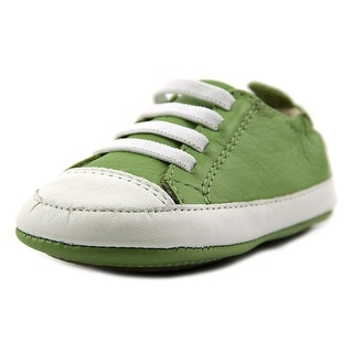 Old Soles Easy Tread Round Toe Leather Sneakers