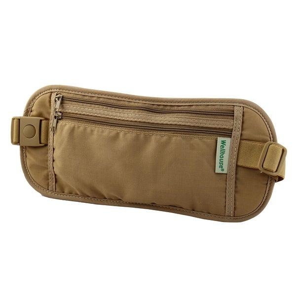 Wellhouse Authorized Keys Phone Pouch Holder Jogging Sports Waist Bag Khaki S