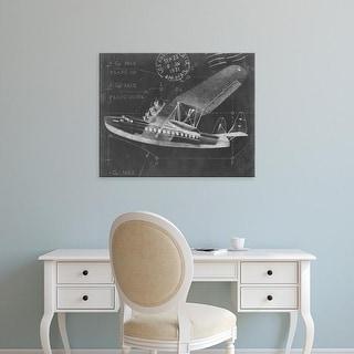 Easy Art Prints Ethan Harper's 'Flight Schematic III' Premium Canvas Art
