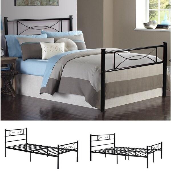 Shop Twin Size Metal Bed Frame Platform Base Mattress