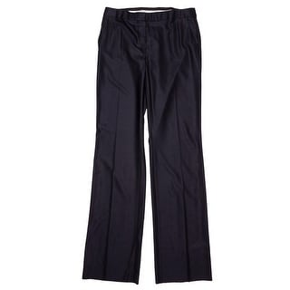 Max Mara Alessia Zip Fly with Button Straight Pants Women Straight Pants