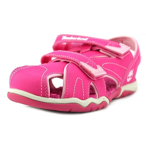 Timberland Adventure Seeker Closed Toe Youth Synthetic Pink Fisherman Sandal