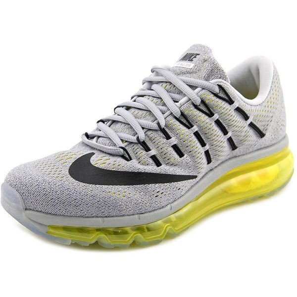 Nike Air Max 2016 Women Round Toe Synthetic Gray Running Shoe
