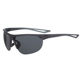 Nike EV0937-061 Sunglasses Cross Trainer Matte Black Frame Gray Lens