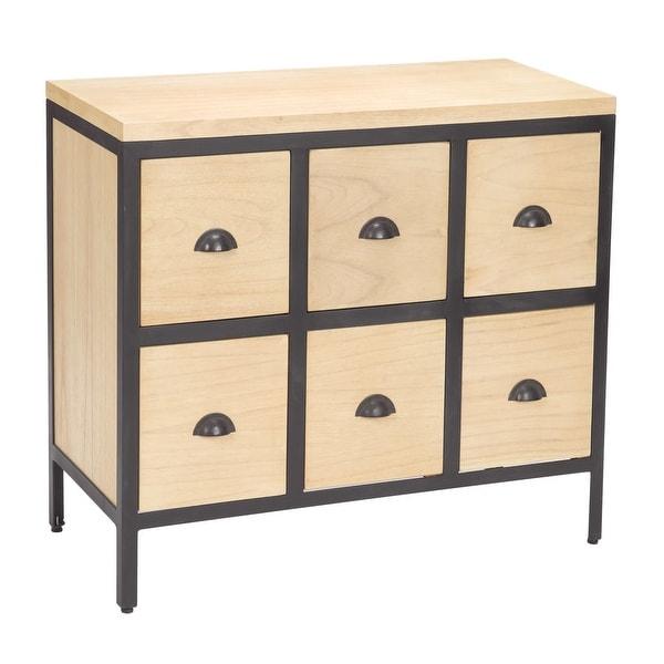 Elk Home 150-021 Chest 6 Drawer Dresser with Iron Frames - Savannah
